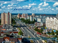 Kazan, Fatykh Amirkhan avenue, house 23. Apartment house