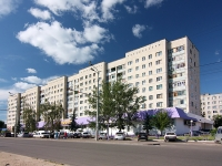 Kazan, st Frunze, house 9. Apartment house with a store on the ground-floor