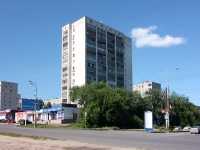 Kazan, Frunze st, house 13. Apartment house