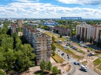 Kazan, Frunze st, house 15. Apartment house