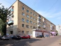 Казань, улица Черноморская, дом 11. многоквартирный дом
