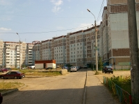 Kazan, Chetaev st, house 40. Apartment house