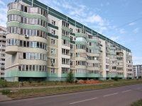 Kazan, Chetaev st, house 45. Apartment house
