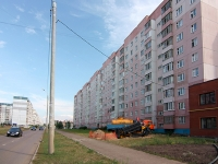 Kazan, Chetaev st, house 66. Apartment house