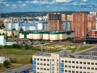 Казань, улица Четаева, дом 14А. многоквартирный дом Золотая середина, жилой комплекс