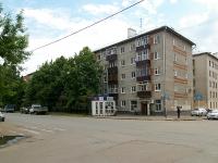 Казань, улица Шаляпина, дом 19. многоквартирный дом