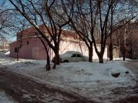 Казань, улица Шамиля Усманова. хозяйственный корпус