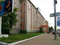 Казань, офисное здание ТВТ, телерадиокомпания, улица Нурсултана Назарбаева (Эсперанто), дом 27Б