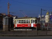 Казань, улица Нурсултана Назарбаева (Эсперанто). памятник Трамвай