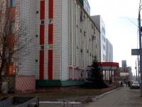 Kazan, office building ТВТ, телерадиокомпания, Nursultana nazarbaeva (esperanto) st, house 27Б