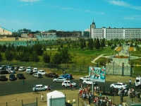 Kazan, Marselya salimzhanova st, house 1. multi-purpose building