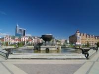喀山市, Marselya salimzhanova st, 喷泉