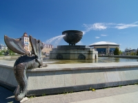 Kazan, Marselya salimzhanova st, fountain