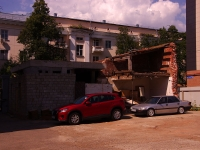 Kazan, Gogol st, house 8А. building under reconstruction