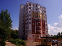 Kazan, alley Professorsky, house 3. Apartment house