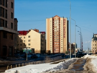 Казань, улица Мусина, дом 7. многоквартирный дом