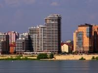 Казань, улица Мусина, дом 1. многоквартирный дом