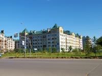 Казань, улица Вахитова, дом 6. многоквартирный дом