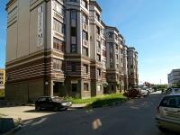 Казань, улица Сулеймановой, дом 7. многоквартирный дом