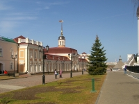 Kazan, sample of architecture ПУШЕЧНЫЙ ДВОР, главный корпус, Kreml , house 14