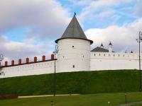 Казань,  Кремль. памятник архитектуры Безымянная башня