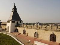 Казань,  Кремль. памятник архитектуры Многогранная башня