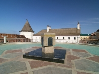 喀山市, 纪念碑 Камень, посвященный закладке Кул ШарифаKreml , 纪念碑 Камень, посвященный закладке Кул Шарифа