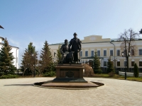 Kazan, monument Зодчим казанского КремляKreml , monument Зодчим казанского Кремля