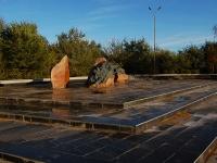 Казань, улица Декабристов. памятник Воинам, погибшим в Афганистане