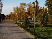Казань, улица Декабристов. сквер