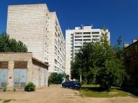 Казань, улица Клары Цеткин, дом 9. многоквартирный дом