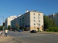 Казань, улица Клары Цеткин, дом 13. многоквартирный дом