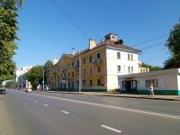 Казань, улица Клары Цеткин, дом 17. многоквартирный дом