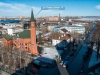 Казань, улица Клары Цеткин, дом 14. мечеть Бишбалта