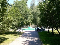 Казань, улица Столярова. фонтан