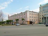 Казань, улица Абжалилова, дом 1. многоквартирный дом