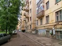Казань, улица Абжалилова, дом 21. многоквартирный дом