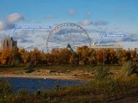 "喀山市, 公园 Парк культуры и отдыха ""Кырлай"", Odnostoronka Grivki st, 房屋 1А"