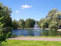 Казань, улица Васильченко. парк Урицкого