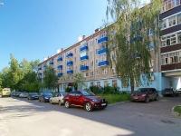 Казань, улица Исаева, дом 18. многоквартирный дом
