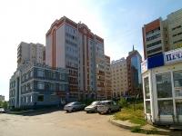 Казань, улица Азинская 2-я, дом 1А. многоквартирный дом