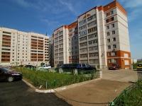 Казань, улица Азинская 2-я, дом 1Б. многоквартирный дом