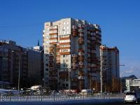 Казань, улица Азинская 2-я, дом 1. многоквартирный дом