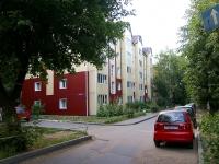 Казань, улица Новаторов, дом 2. многоквартирный дом