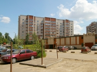 Kazan, Tverskaya st, house 9Б. Apartment house