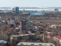 Казань, улица Галеева, дом 16. многоквартирный дом