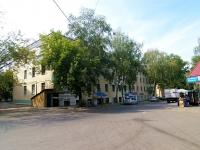 Казань, улица Сеченова, дом 3. многоквартирный дом