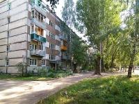 Казань, улица Комарова, дом 4. многоквартирный дом