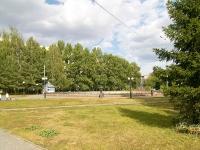 Kazan, Karbyshev st, public garden