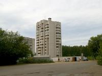 Казань, улица Латышских Стрелков, дом 14. многоквартирный дом